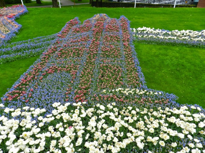 London Bridge - part of the United Kingdom Theme, Keukenhof, The Netherlands
