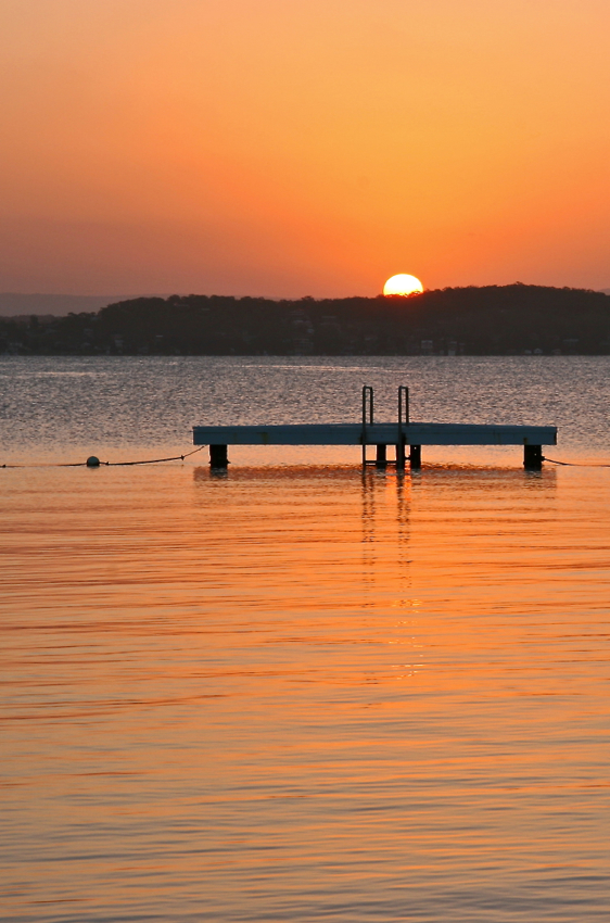 Sunset at Lake Macquarie, NSW Australia