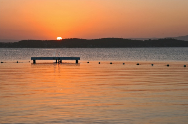 Sunset at Lake Macquarie, NSW Australia