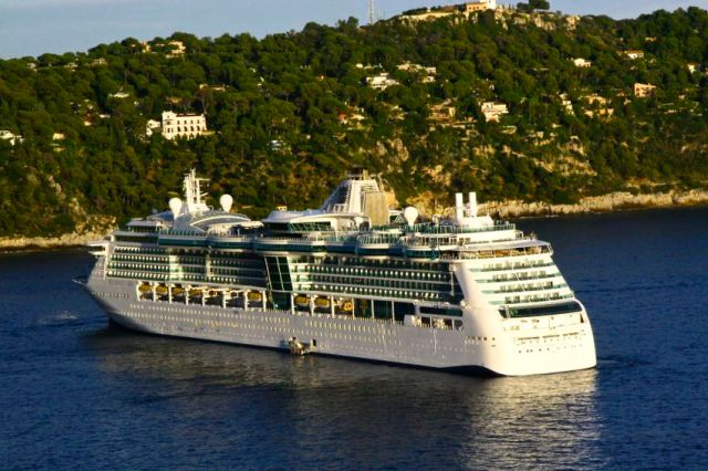 Brilliance of the Seas at Villefranche-Sante, France