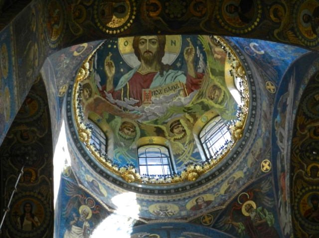 High Ceiling, Church on Spilled Blood, Russia