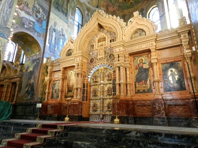 Interior, Church on Spilled Blood