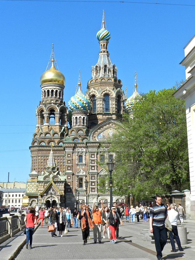 Exterior, Church on Spilled Blood, Russia