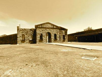 Internal Area, Trial Bay Gaol, Jail, Prison