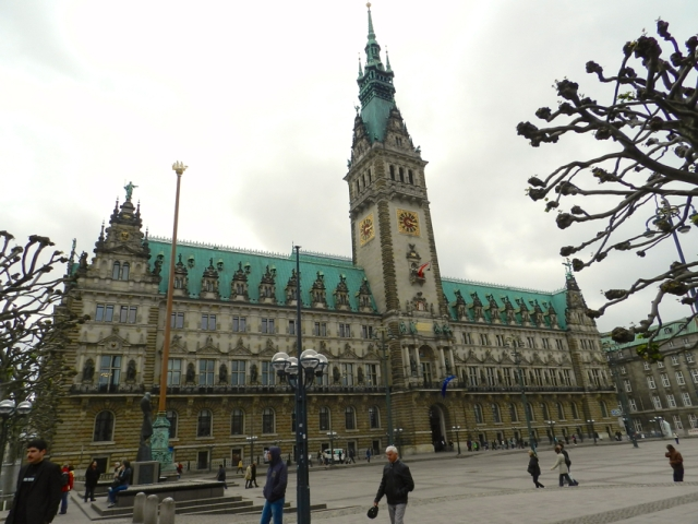 The Rathaus Exterior