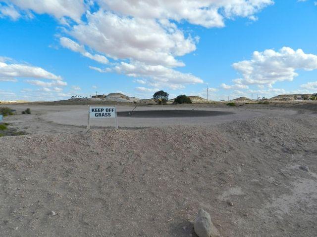 Golf Course - Keep Off Grass!