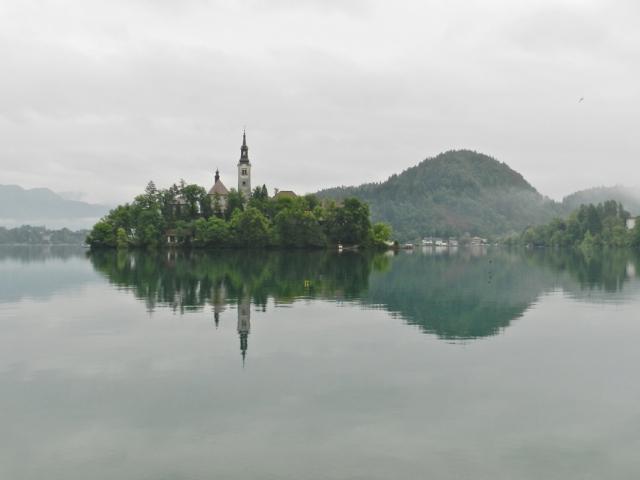 Bled Island in Lake Bled