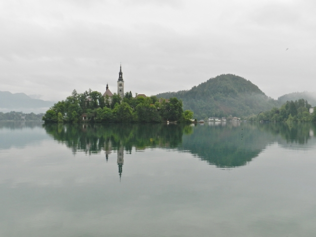 Bled Island in Lake Bled