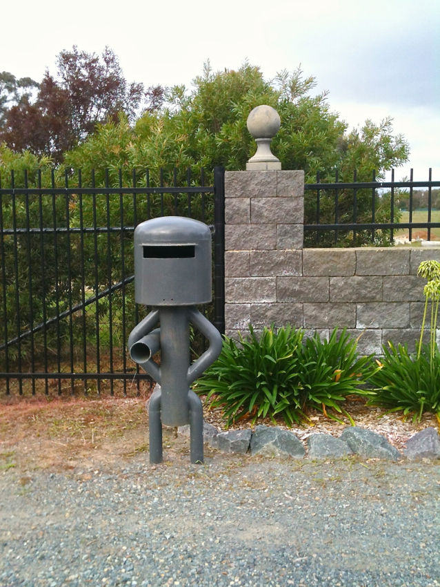 Ned Kelly Post Box, Canberra