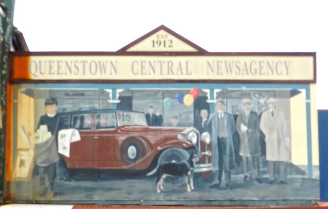 Queenstown Newsagency, Tasmania