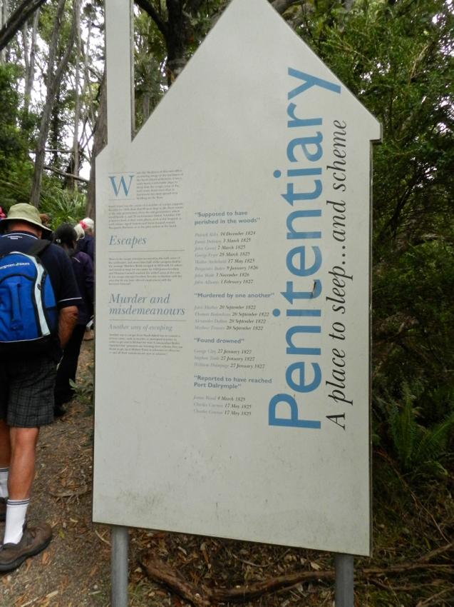 Penitentiary at Sarah Island, Tasmania