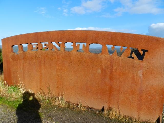 Entrance to Queenstown, Tasmania