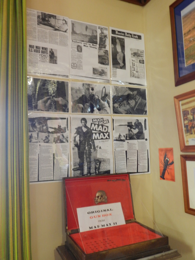 Silverton Hotel with Mad Max photos