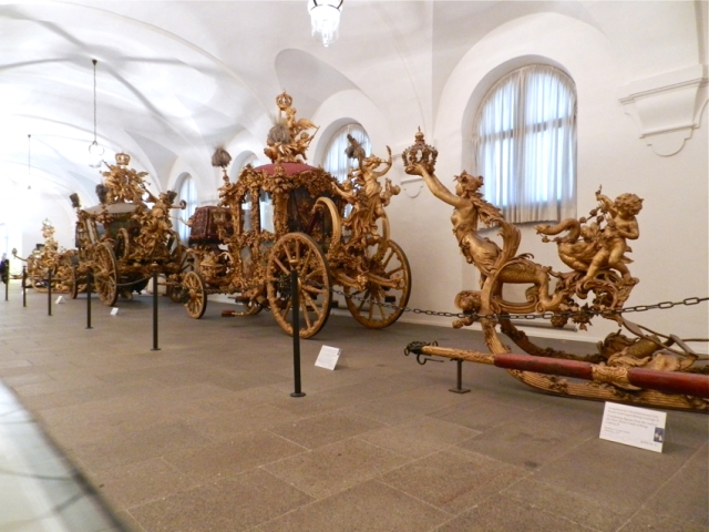 Breath taking carriages & sleighs