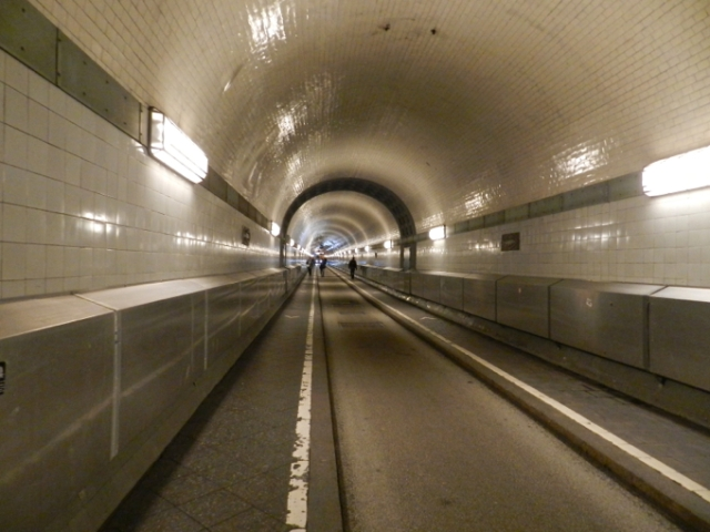 Elbe Tunnel, Hamburg, Germany