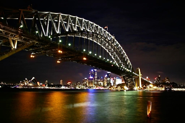 Sydney Harbour Bridge at Night