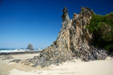 Glasshouse Rocks, Surf Beach, Narooma