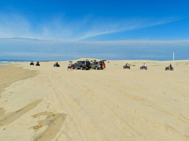 Stockton Beach - we ship our sand from here to Hawaii