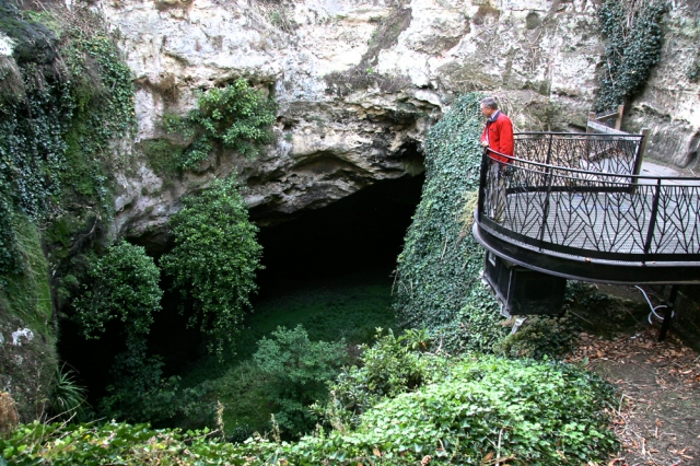 Mr Oz in Cave Garden I