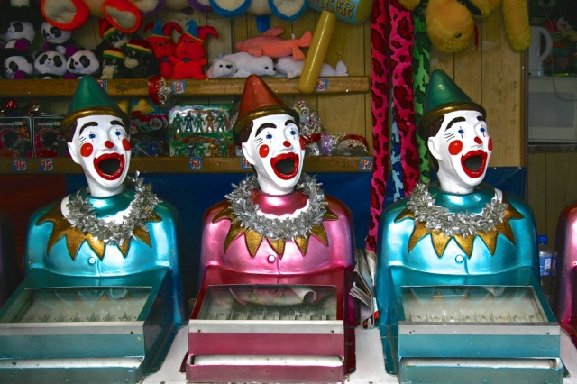 What's a fair without clowns? Victor Harbor, SA