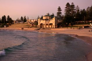 Sunset at Cottesloe Main Beach