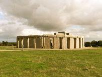 Replica Stone Henge in Oz