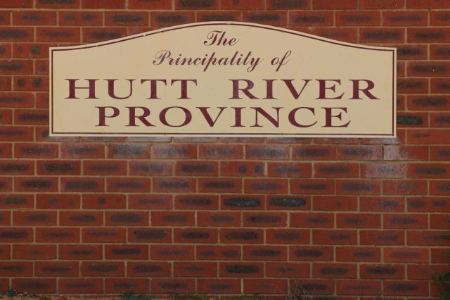 Principality of Hutt River Entrance