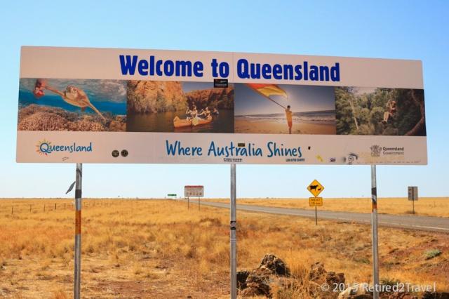 QLD Border