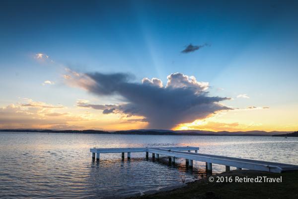 Sunset at Lake Mac-5439